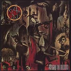 Reign in Blood is listed (or ranked) 16 on the list The Top Metal Albums of All Time