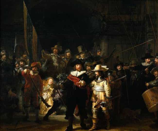 Rembrandt is listed (or ranked) 4 on the list The Greatest Painters Of All Time