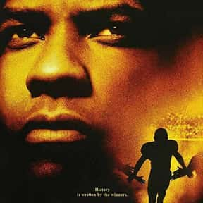 Remember the Titans is listed (or ranked) 1 on the list The Best Denzel Washington Movies