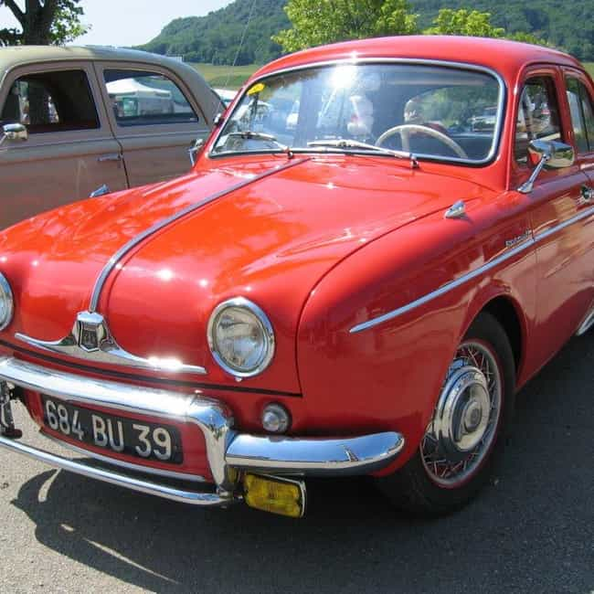 Renault Dauphine is listed (or ranked) 3 on the list Full List of Renault Models