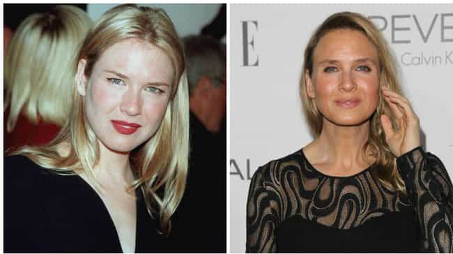 Renée Zellweger ... is listed (or ranked) 4 on the list Celebrities Whose Faces Totally Changed