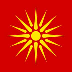 Republic of Macedonia is listed (or ranked) 3 on the list The Prettiest Flags in the World