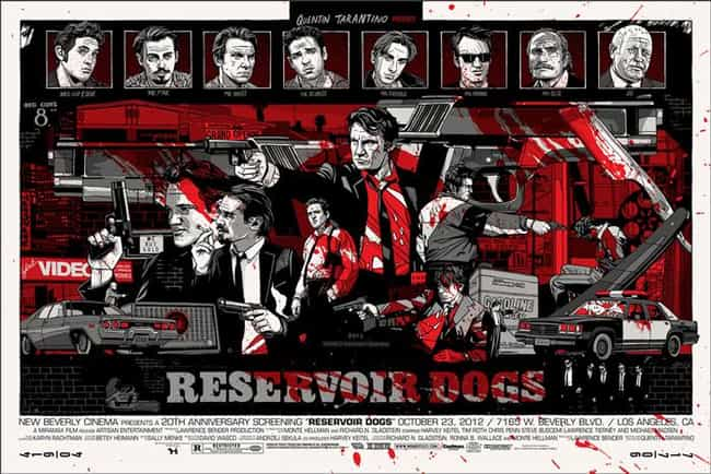Reservoir Dogs is listed (or ranked) 2 on the list The Best Mondo Movie Posters (From The Alamo Drafthouse)