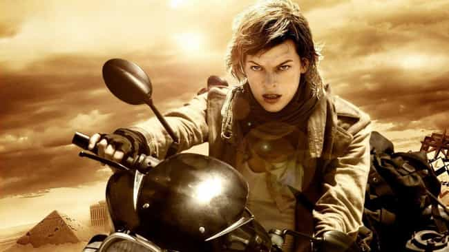 Resident Evil: Extinctio... is listed (or ranked) 4 on the list 15 Bad Video Game Movies That Are Actually Good