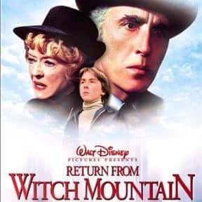 Return from Witch Mountain is listed (or ranked) 21 on the list The Best Disney Science Fiction Movies Of All Time