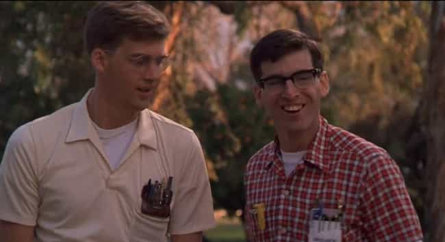 Revenge of the Nerds is listed (or ranked) 7 on the list 13 Comedies Where The Main Character Is Actually A Narcissistic Monster