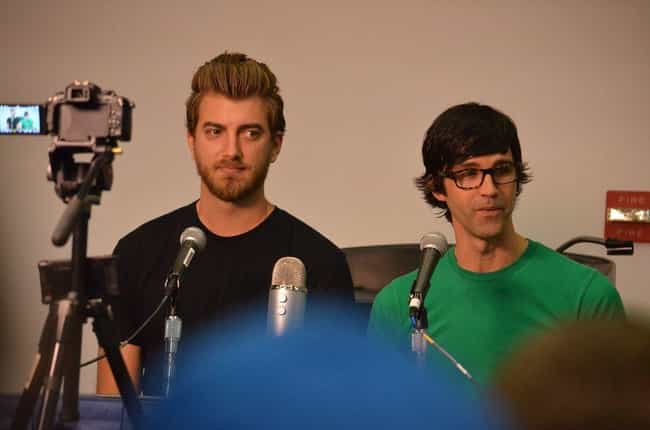 Rhett and Link is listed (or ranked) 2 on the list Famous YouTubers Who Are Gemini