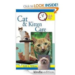 Quick and easy cat and kitten  is listed (or ranked) 11 on the list The Best Books About Cat Care