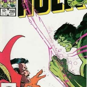 Incredible Hulk is listed (or ranked) 20 on the list The Best Doctor Strange Versions Of All Time