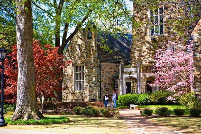 Rhodes College is listed (or ranked) 3 on the list Princeton Review's List: The Most Beautiful Campuses 2014-15