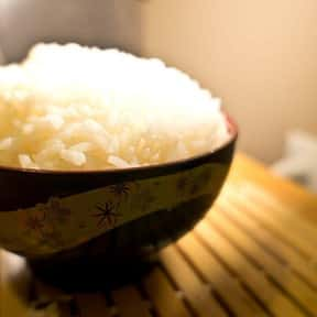 Rice is listed (or ranked) 6 on the list What Basic Groceries Should I Buy Right Now To Stock Up For Quarantine?
