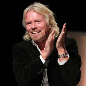 Richard Branson is listed (or ranked) 10 on the list List of Famous Investors