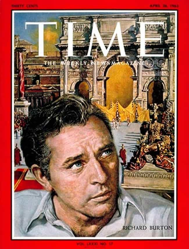 Richard Burton is listed (or ranked) 7 on the list The Most Powerful Time Covers