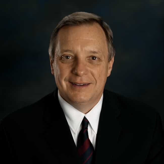 Dick Durbin is listed (or ranked) 2 on the list Politicians' Voting Record on the Environment