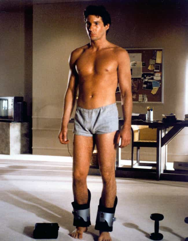 Richard Gere is listed (or ranked) 5 on the list 38 Male Actors Who Have Done Full Frontal