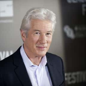 Richard Gere is listed (or ranked) 10 on the list People's Sexiest Man Alive:1985-2008