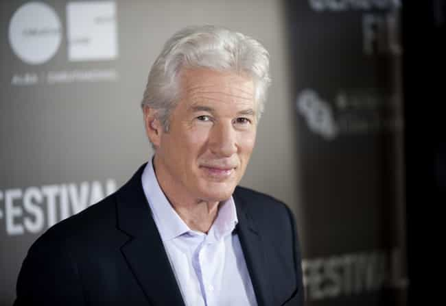 Richard Gere is listed (or ranked) 7 on the list Male Celebrities Who Are 5'10