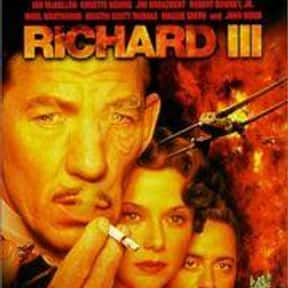 Richard III is listed (or ranked) 8 on the list The Best Shakespeare Film Adaptations