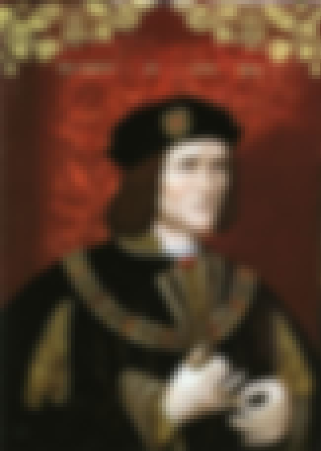 Richard III of England is listed (or ranked) 1 on the list 16 Famous Bodies From History Found In Inconspicuous Places