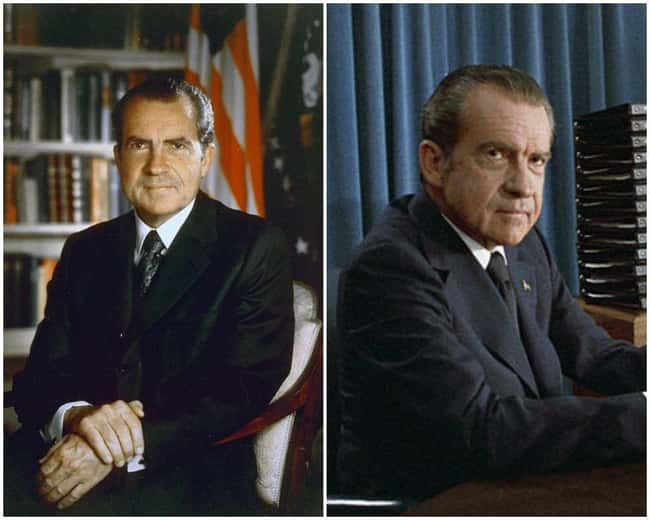Richard Nixon is listed (or ranked) 8 on the list U.S. Presidents Before and After Major Historical Events