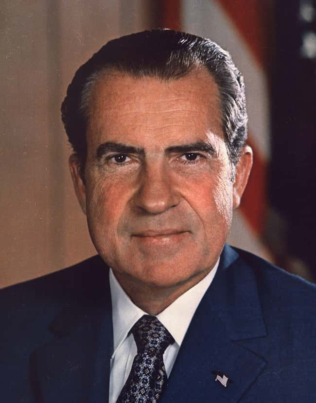 Richard Nixon is listed (or ranked) 36 on the list Every U.S. President & Every Medical Problem They've Ever Had