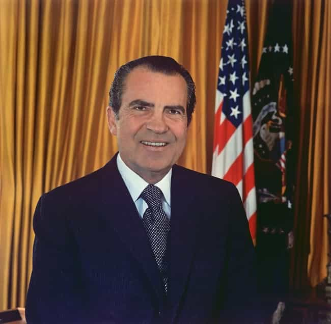 Richard Nixon is listed (or ranked) 2 on the list 26 Celebrities Who Are Quakers