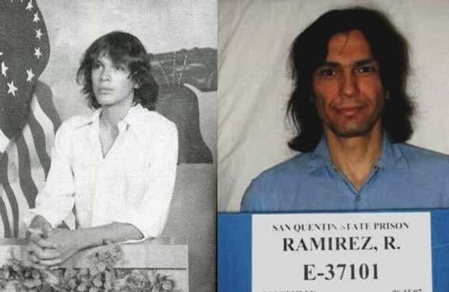 Richard Ramirez is listed (or ranked) 2 on the list 12 Chilling Yearbook Pictures of Serial Killers and Notorious Murderers