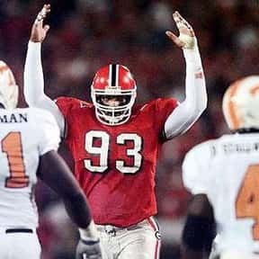Richard Seymour is listed (or ranked) 20 on the list The Best University of Georgia Football Players of All Time