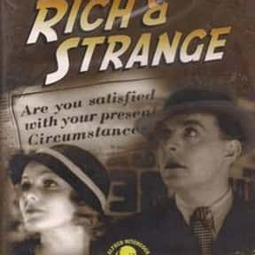 Rich and Strange is listed (or ranked) 18 on the list The Best '30s Thriller Movies