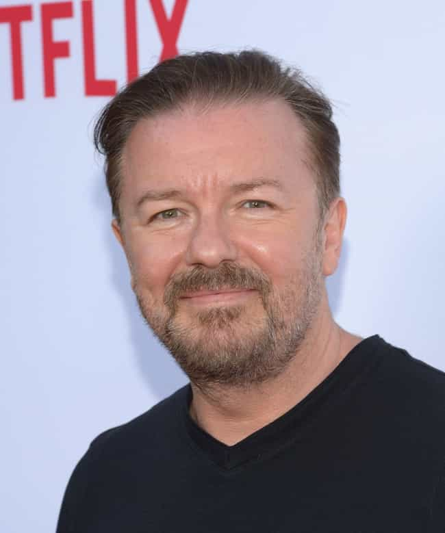 Ricky Gervais is listed (or ranked) 3 on the list The Most Baffling And Unexpected Moments From The Golden Globes