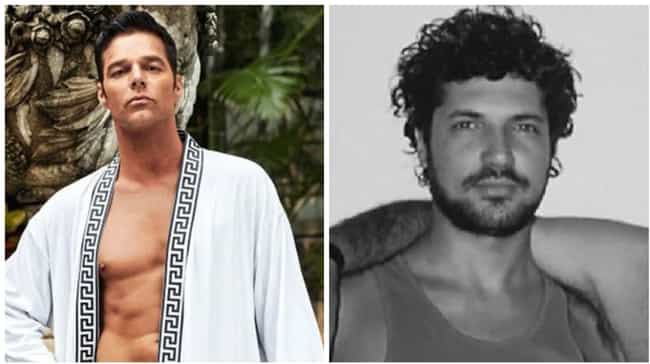Ricky Martin is listed (or ranked) 4 on the list American Crime Story: Versace Actors Versus Their Real-Life Counterparts