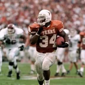 Ricky Williams is listed (or ranked) 1 on the list The Best College Running Backs of the 1990s