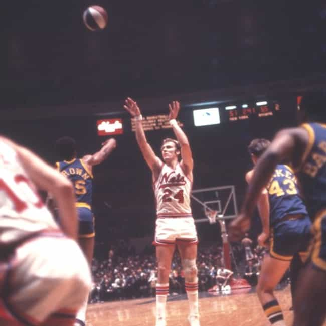 Rick Barry is listed (or ranked) 4 on the list The Best Athletes Who Wore #24