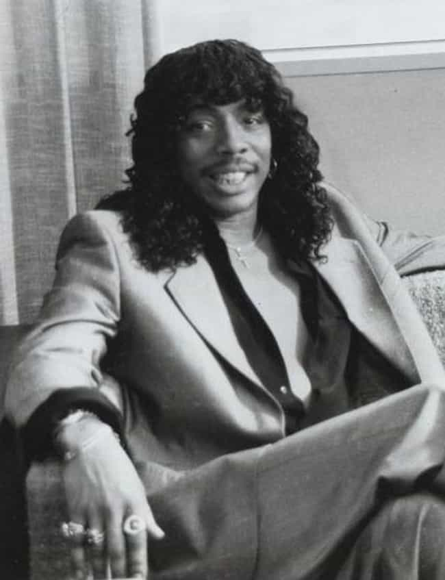 Rick James is listed (or ranked) 4 on the list 16 Interesting Facts About Neil Young You May Not Know