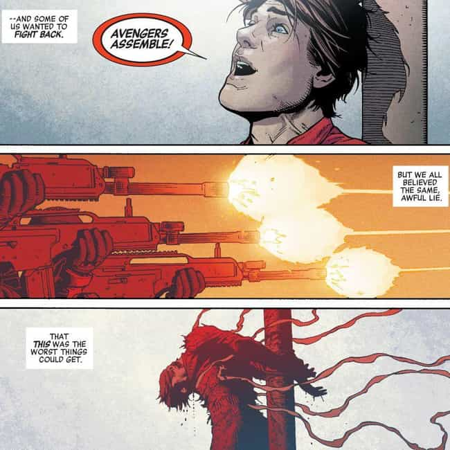 Rick Jones is listed (or ranked) 3 on the list Marvel Killed Off A Ton Of Your Favorite Characters In Captain America's Secret Empire