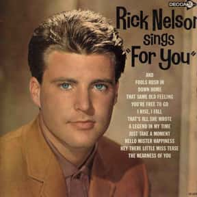 """Rick Nelson Sings """"For You"""" is listed (or ranked) 8 on the list The Best Ricky Nelson Albums of All Time"""