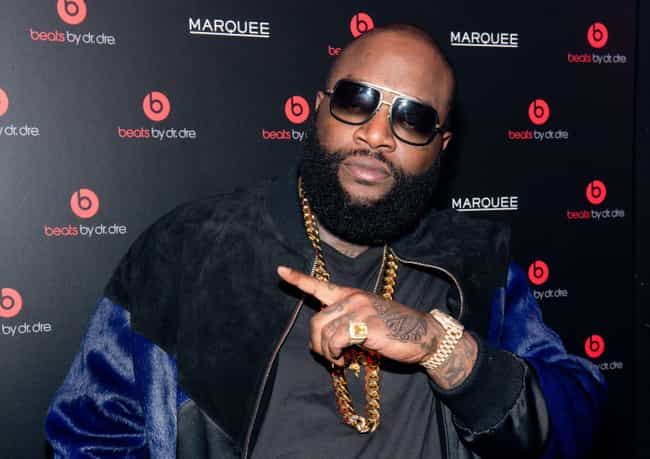 Rick Ross is listed (or ranked) 1 on the list Rappers Who Have Beards