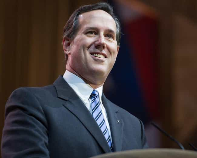 Rick Santorum is listed (or ranked) 3 on the list Famous Carmel High School Alumni