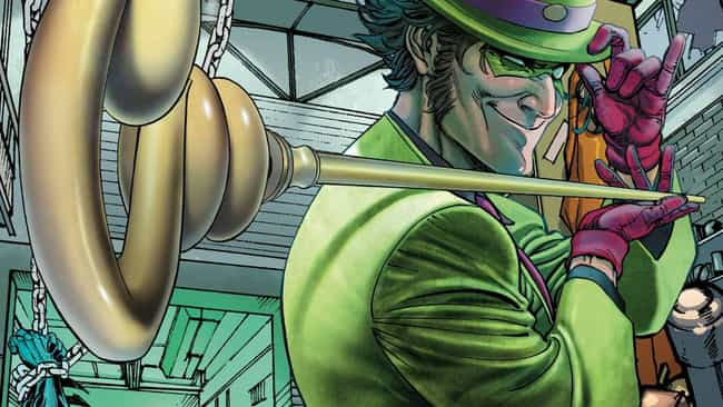 Riddler is listed (or ranked) 3 on the list Every Batman Villain Is Just A Reflection Of The Caped Crusader's Damaged Mind