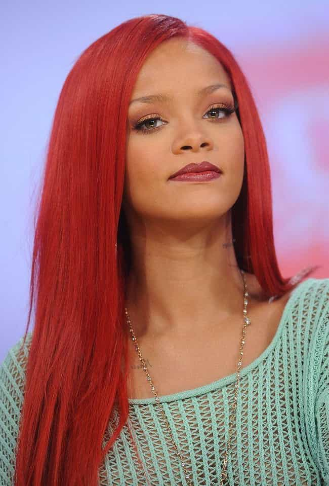 Rihanna is listed (or ranked) 4 on the list Famous People Who Were Relentlessly Bullied