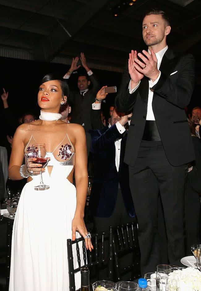 Rihanna is listed (or ranked) 4 on the list Justin Timberlake's Loves & Hookups
