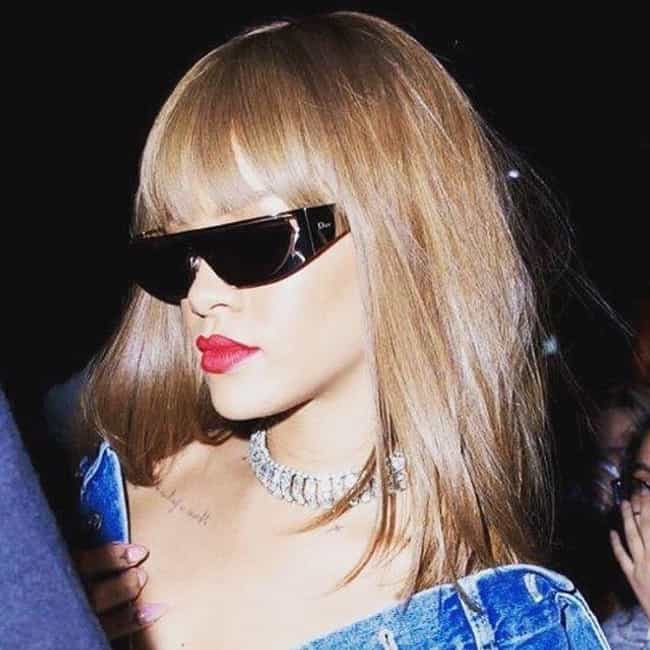 Rihanna is listed (or ranked) 3 on the list Celebrities Who Wear Wigs