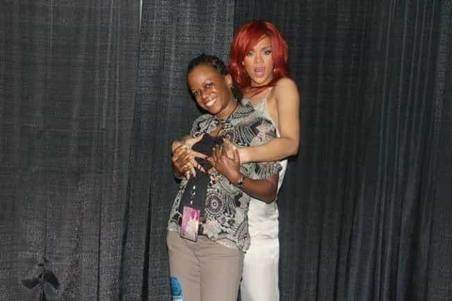 15 painfully uncomfortable celebrity meet and greet photos rihanna is listed or ranked 1 on the list painfully uncomfortable celebrity meet and m4hsunfo