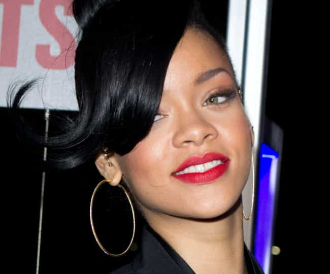 Rihanna is listed (or ranked) 5 on the list The Rudest Celebrities In Hollywood, According To The Fans Who've Met Them