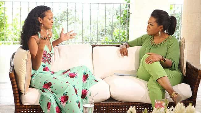 Rihanna is listed (or ranked) 3 on the list The Many Celebrity Friends Of Oprah Winfrey