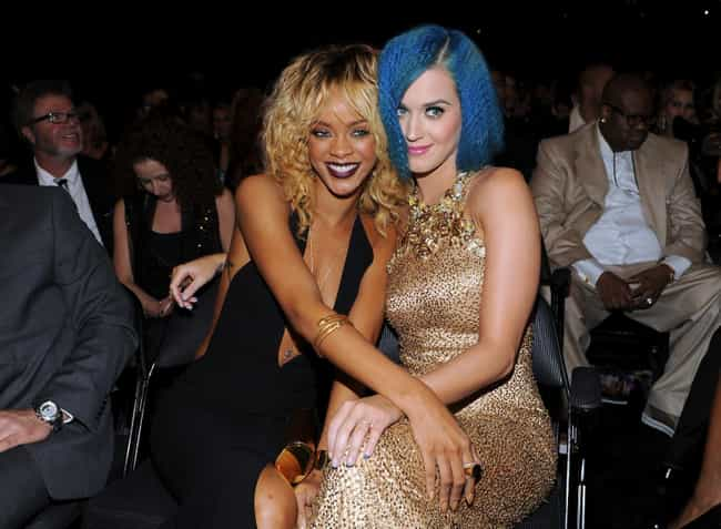 Rihanna is listed (or ranked) 1 on the list Famous Friends of Katy Perry