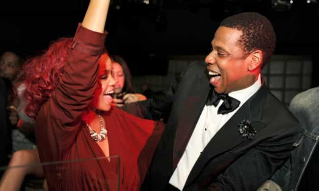 Rihanna is listed (or ranked) 2 on the list Famous Friends of Jay-Z