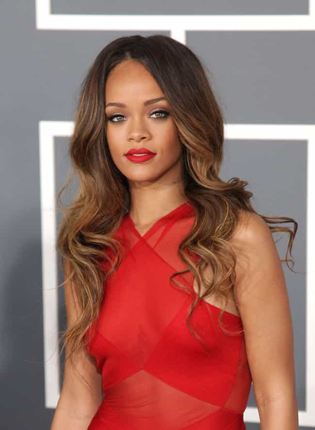Rihanna is listed (or ranked) 3 on the list Celebrities You'd Like to Spend Decades on a Spaceship With