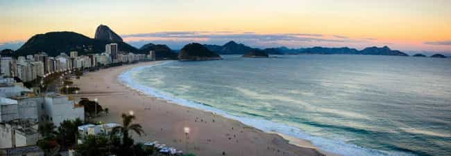 Rio de Janeiro is listed (or ranked) 3 on the list The Most Beautiful Cities in South America