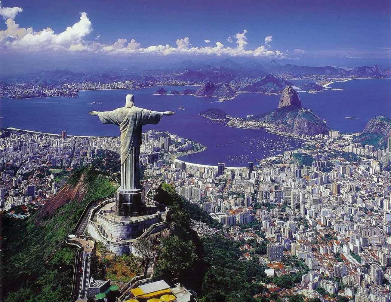 Rio de Janeiro, Brazil is listed (or ranked) 3 on the list The Most Beautiful Cities in the World